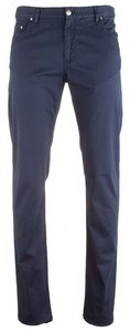 Paul & Shark Stretch Cotton 5-Pocket Broek Navy