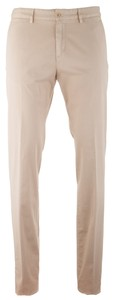 Paul & Shark Stretch Flat-Front Trousers Broek Zand