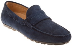 Paul & Shark Suède Loafers  Shoes Navy
