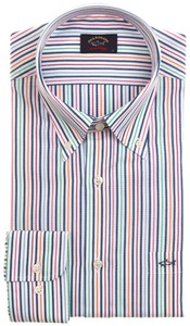 Paul & Shark Summer Stripe Overhemd Multicolor