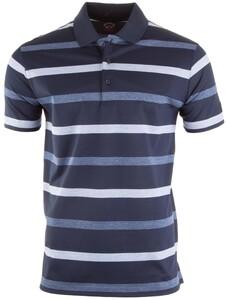 Paul & Shark Summer Stripe Polo Poloshirt Navy