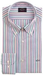 Paul & Shark Summer Stripe Shirt Multicolor