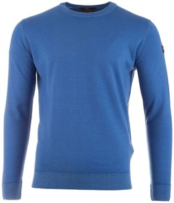 Paul & Shark Summer Wool Trui Licht Blauw