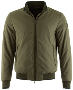 Paul & Shark Super Soft Microfiber Jacket Jack Forrest Green
