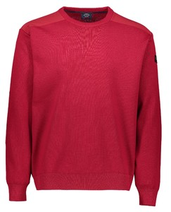 Paul & Shark The Original Yachting Roundneck Pullover Red