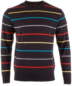 Paul & Shark Three In One Fine Line Roundneck Pullover Multicolor