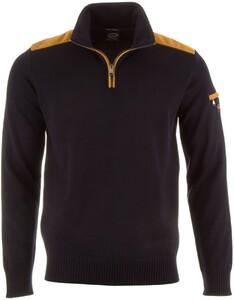 Paul & Shark Velour Contrast Pullover Navy