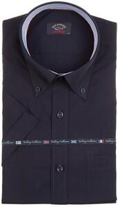 Paul & Shark Yachting Contrast Collar Overhemd Navy
