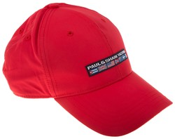 Paul & Shark Yachting Flag Cap Cap Red