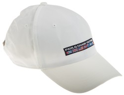 Paul & Shark Yachting Flag Cap Cap White