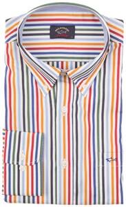 Paul & Shark Yachting Stripe Overhemd Multicolor