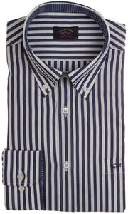 Paul & Shark Yachting Stripe Shirt Navy