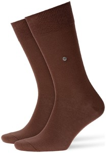 Burlington Lord Socks Brown Tan