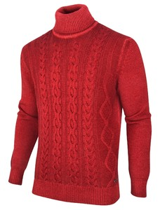 Cavallaro Napoli Martino Pullover Donker Rood