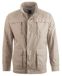 Pierre Cardin All Weather Techno Coated Jacket Jack Khaki