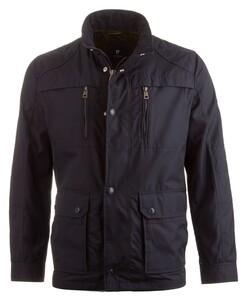 Pierre Cardin All Weather Techno Coated Jacket Jack Navy