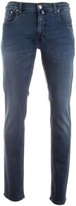 Pierre Cardin Antibes Handmade Tailored Jeans Jeans Vintage Used Blauw Melange