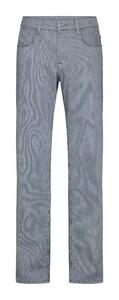 Pierre Cardin Antibes Le Bleu Striped Jeans Blue-White