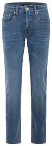 Pierre Cardin Antibes Slim Fit Jeans Blauw