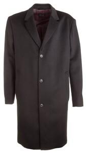 Pierre Cardin Basic Long Coat Jas Zwart