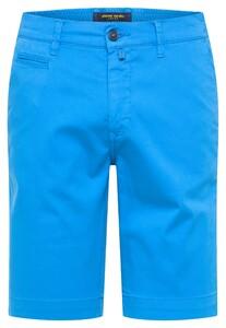 Pierre Cardin Chino Bermuda Comfort Stretch Bermuda Blue