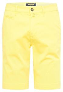 Pierre Cardin Chino Bermuda Comfort Stretch Bermuda Bright Yellow
