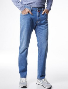 Pierre Cardin Deauville Tapered Airtouch Jeans Azur Blue