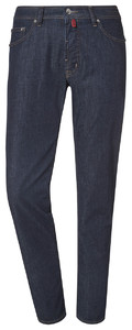 Pierre Cardin Deauville Tapered Airtouch Jeans Used Washed Navy Melange