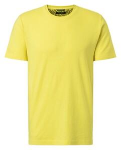 Pierre Cardin Denim Academy Fine Striped T-Shirt Geel