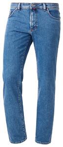 Pierre Cardin Dijon Jeans Stone Washed Blue Melange