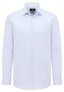 Pierre Cardin Fine Fantasy Pattern Kent Overhemd Licht Blauw