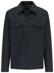 Pierre Cardin Fine Pattern Button Shirt Jack Jack Navy