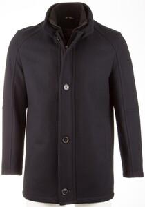 Pierre Cardin Formal Wool Coat Jack Navy