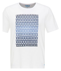 Pierre Cardin Futureflex Fantasy Pattern T-Shirt Wit