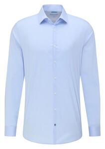 Pierre Cardin Futureflex Uni Kent Overhemd Licht Blauw