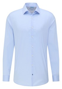 Pierre Cardin Futureflex Uni Kent Shirt Light Blue