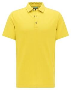 Pierre Cardin Jersey Tencel Uni Supersoft Polo Flash Yellow