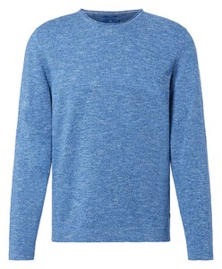 Pierre Cardin Le Bleu Cotton Linen Pullover Light Blue