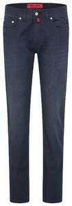 Pierre Cardin Lyon 5 Pocket Jeans Marine Melange