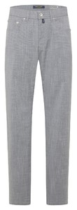 Pierre Cardin Lyon Airtouch Comfort Stretch Pants Light Grey