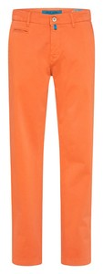 Pierre Cardin Lyon Tapered Chino Futureflex Broek Oranje