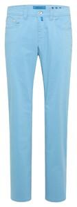 Pierre Cardin Lyon Tapered Futureflex Coolmax Broek Pastel Blue-Green