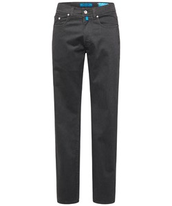 Pierre Cardin Lyon Tapered Futureflex Dot Square Contrast Broek Antraciet
