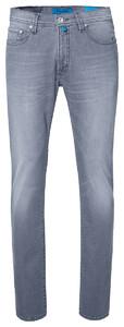 Pierre Cardin Lyon Tapered Futureflex Jeans Grey Used Washed