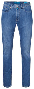 Pierre Cardin Lyon Tapered Futureflex Jeans Jeans Blue Used Washed