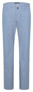 Pierre Cardin Lyon Voyage Comfort Stretch Pants Light Blue