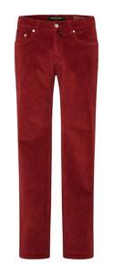 Pierre Cardin Lyon Voyage Corduroy Corduroy Trouser Red