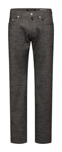 Pierre Cardin Lyon Voyage Fine Birdseye Structure Pants Dark Grey