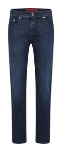 Pierre Cardin Lyon Voyage Smart Travelling Jeans Dark Blue Used