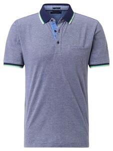 Pierre Cardin Piqué Airtouch Uni Multicolor Polo Delta Blue